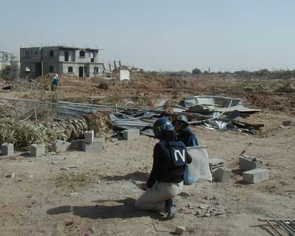 Chiron Resources Case Studies gaza 2003